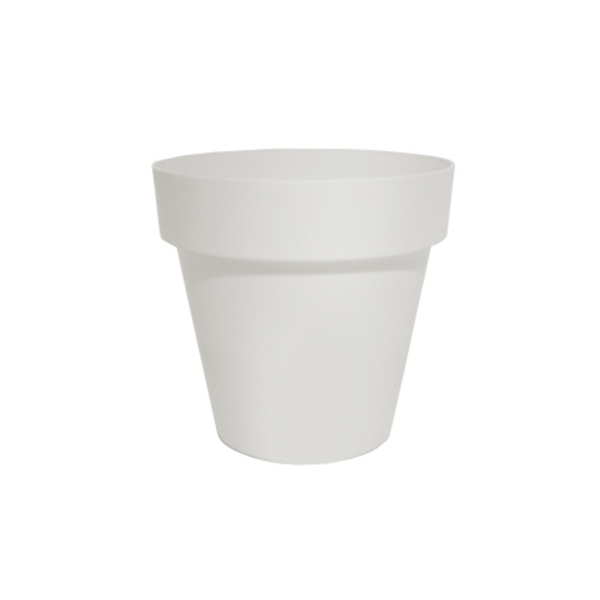 Flower Pot : small white