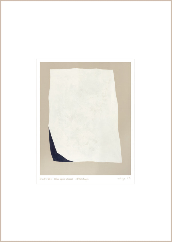 White Sage no.13 : 360*500(mm) / Limited Edition