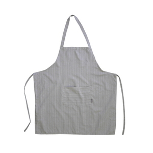 Apron : grey stripe
