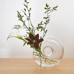 Donut Glass Vase