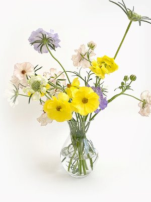 Flower Glass Vase