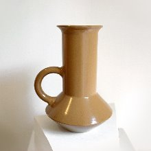 Ring Vase Brown